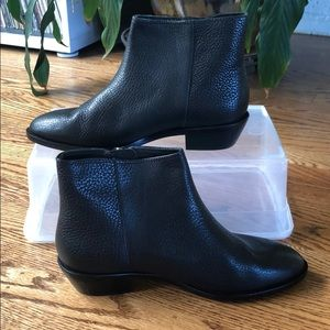 JCrew ankle chelsea boot, leather
